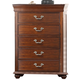 New Classic Furniture Jaquelyn Chest in Heritage Cherry B8651-070