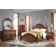 New Classic Furniture Jaquelyn Bedroom Set in Heritage Cherry B8651-SET