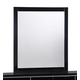 Global Furniture Hailey Mirror in Black