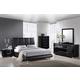 Global Furniture Hailey/8272 4-Piece Bedroom Set in Black