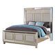 New Classic Furniture Stefano Queen Bed in Silver