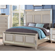 New Classic Furniture Stefano California King Bed in Silver