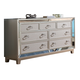 New Classic Furniture Stefano Dresser in Silver B1492-050