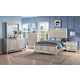 New Classic Furniture Stefano Bedroom Set in Silver B1492-SET