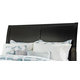 Braflin King/California King Sleigh Headboard Bed in Black