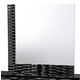 Global Furniture Manhattan Mirror in Black