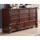 New Classic Furniture Isabelli Dresser in Claret B5870-050