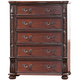 New Classic Furniture Isabelli Chest in Claret B5870-070