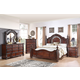 New Classic Furniture Isabelli Bedroom Set in Claret B5870-SET