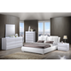 Global Furniture Bailey/8269 4-Piece Platform Bedroom Set in White