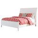 Langlor King Sleigh Bed in White