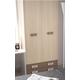 ESF Furniture H520 2-Door Wardrobe