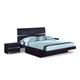 Global Furniture Aurora King Platform Bed in Wenge