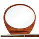 Global Furniture Emily Mirror in Cherry
