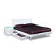 Global Furniture Emily Queen Platform Bed in White