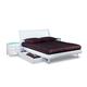 Global Furniture Emily King Platform Bed in White