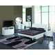 Global Furniture Emily 4-Piece Platform Bedroom Set in White