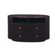 Global Furniture Emily Entertainment Unit in Wenge