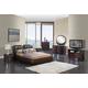 Global Furniture Emily/8269 4-Piece Bedroom Set in Brown/Wenge