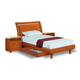 Global Furniture Emily Kids Twin Platform Bed in Cherry