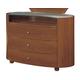 Global Furniture Emily Kids 3 Drawer Dresser in Cherry