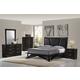 Global Furniture Fairmont 4-Piece Panel Bedroom Set in Dark Cappuccino