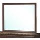 Global Furniture Corra Mirror in Dark Merlot