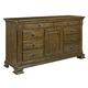 Kincaid Portolone Sorenno Door Dresser in Rich Truffle 95-160