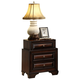 Global Furniture Sarina 3 Drawer Nightstand in Varnish Oak