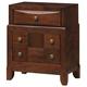 Global Furniture Oasis 3 Drawer Nightstand in Oak
