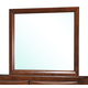 Global Furniture Oasis Mirror in Oak