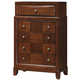 Global Furniture Oasis 5 Drawer Chest in Oak