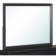 Global Furniture Carolina Mirror in Black