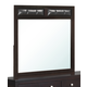 Global Furniture Rosa Mirror in Antique Black