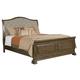 Kincaid Portolone Queen Sleigh Bed in Rich Truffle