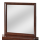 Global Furniture Linda Mirror in Merlot