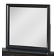 Global Furniture Linda Mirror in Black