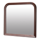 Global Furniture Philippe Mirror in Cherry