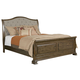 Kincaid Portolone California King Sleigh Bed in Rich Truffle