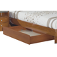 Global Furniture Emily Underbed Drawer in Cherry