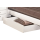 Global Furniture Emily Underbed Drawer in White