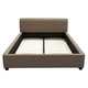 Diamond Sofa Furniture Euro Queen Platform Bed in Toffee