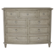 Bernhardt Marquesa 9-Drawer Dresser in Gray Cashmere Finish 359-042