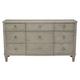 Bernhardt Marquesa 9-Drawer Dresser in Gray Cashmere Finish 359-052