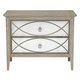 Bernhardt Marquesa 2-Drawer Nightstand in Gray Cashmere Finish 359-234