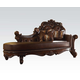 Acme Vendome Chaise in Cherry 96491 SPECIAL
