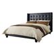 Diamond Sofa Furniture Madison California King Platform Bed in Black