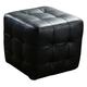 Diamond Sofa Furniture Zen Cube Ottoman in Black