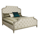 Bernhardt Marquesa King Upholstered Bed in Gray Cashmere Finish