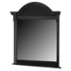 American Woodcrafters Cottage Traditions Dressing Mirror in Black 6520-032